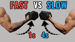 Slow Reps vs Fast Reps for Muscle Growth thumbnail