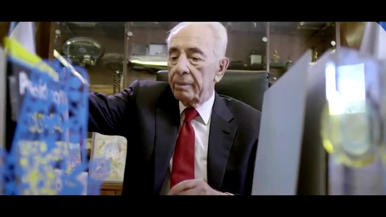 Former Israeli President Shimon Peres Goes Job Hunting שמעון פרס מחפש עבודה