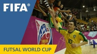 Incredible 16-goal demolition for Brazil