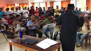 Sadhu Sopanam - Medley Practice Session