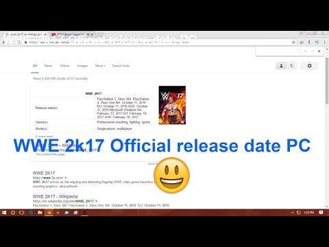 WWE 2K17 PC Release Date Revealed Update