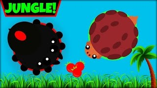 MOPE.IO JUNGLE BIOME | ALL JUNGLE ANIMAL IDEAS | MOPE.IO NEW UPDATE(Mope.io)
