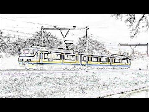kleurplaat trein ns kleurplaten dieren