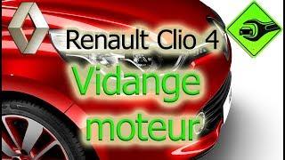 Renault Clio 4 | Vidange moteur