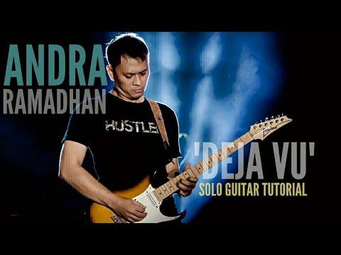 """DEJA VU"" Interlude Guitar Tutorial | Andra Ramadhan - YouTube"