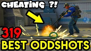 300 IQ WALLBANG *WTF WORD.EXE ?* - CS:GO BEST ODDSHOTS #319