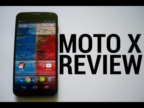 Moto X review (video)