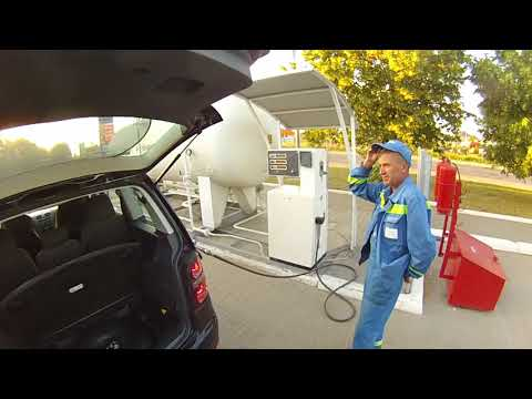 VW TOURAN 1,6 BSE first gas filling