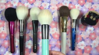 My Favorite Face Brushes Part 1