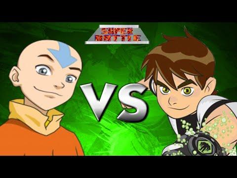 Avatar Aang Vs.Ben 10 | SUPER BATTLE!