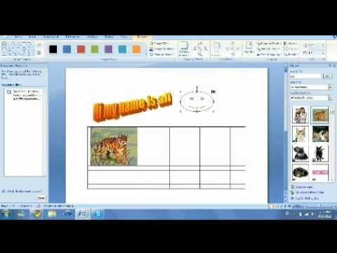 how to use Microsoft office word- by: Ali Talaat