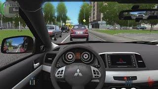 City Car Driving - Mitsubishi Lancer X