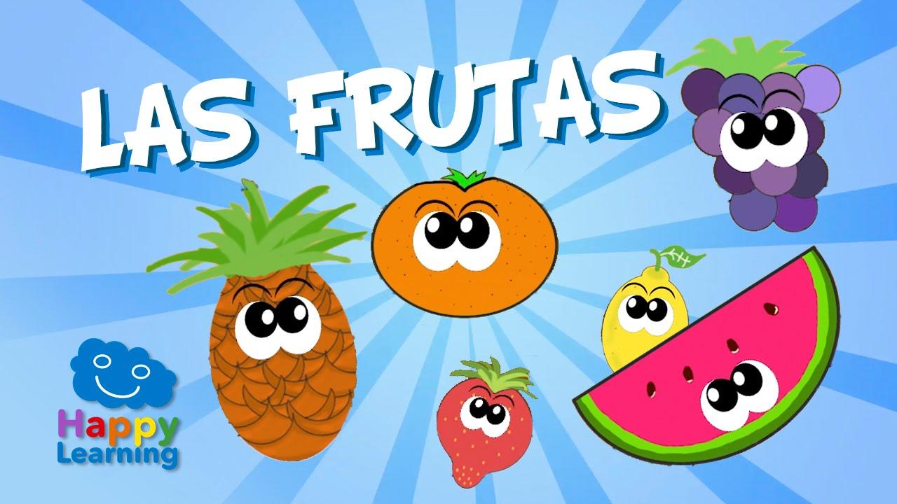 Fruits in Spanish for Children | Learn Spanish - YouTube