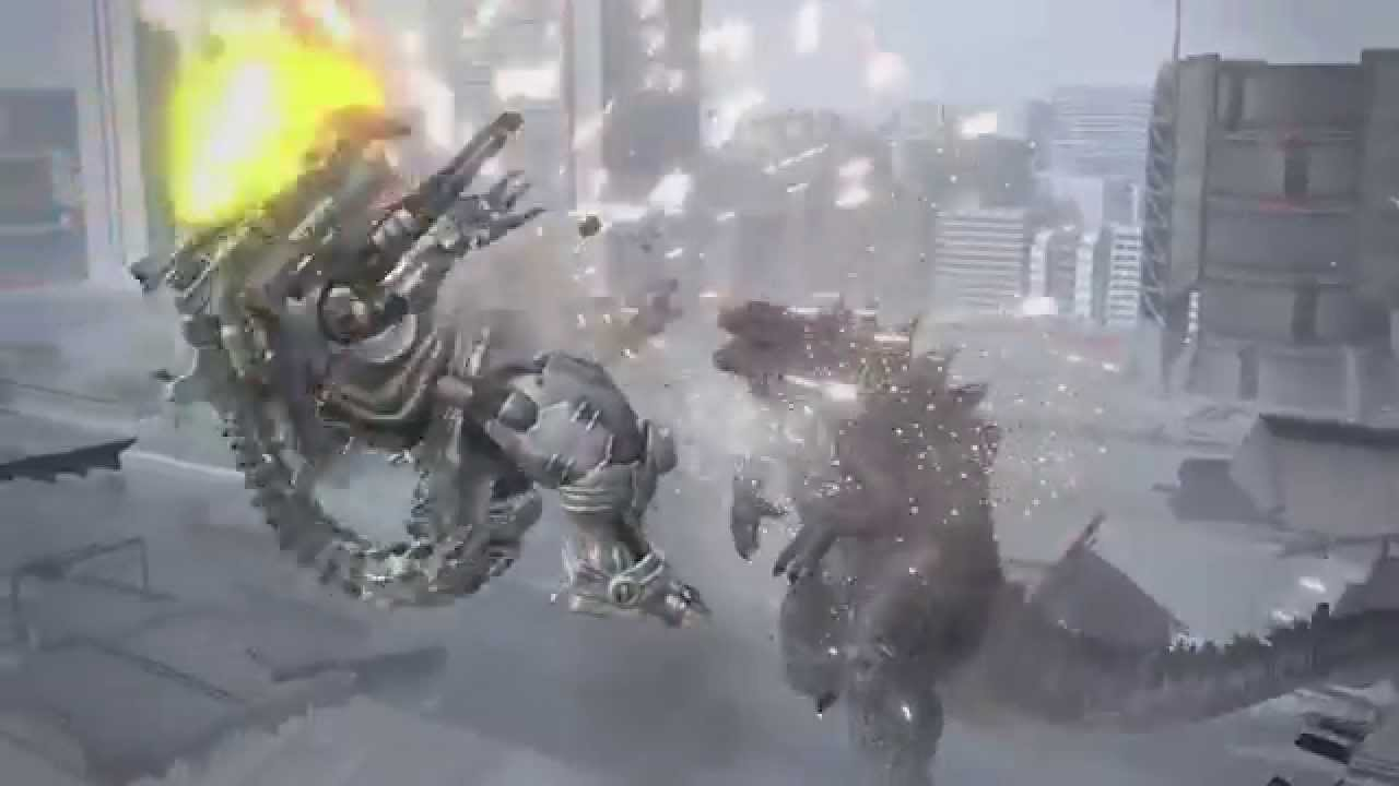 Godzilla VS PS4 Multiplayer Online Gameplay Footage