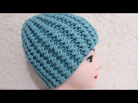 Вязание спицами шапок для женщин для начинающих видео