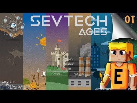 SevTech Ages EP01 - First Look - Самые лучшие видео