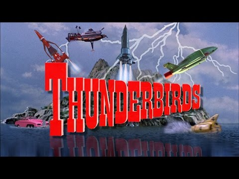 Thunderbirds 1965 - 1966 Opening and Closing Theme (With Snippets) Blu-Ray Dolby 5.1