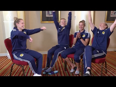 Two Truths, One Lie with the Scotland Women's National Team