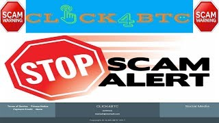 click4btc.org Payment Proof Scam! Scam!! Scam!!! Find-out.