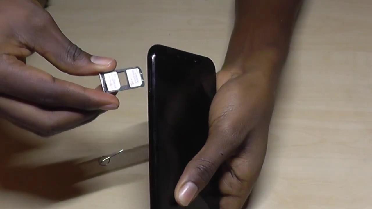 comment inserer carte sim Huawei Mate 20 Lite: Insérez la carte SIM   YouTube