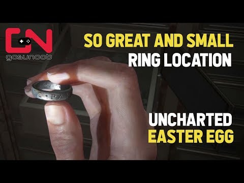 The Last Of Us 2 Uncharted Easter Egg Sic Parvis Magna Engraved Ring Location Youtube