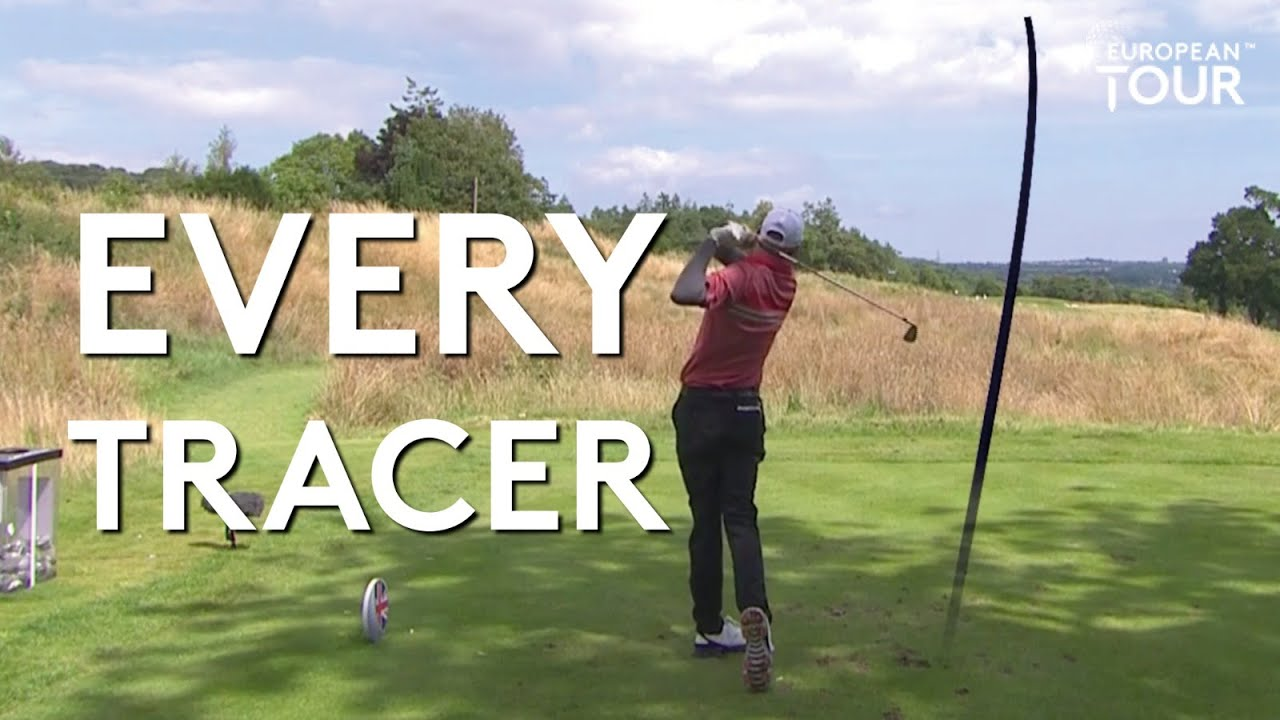 Every Top Tracer from the 2020 Betfred British Masters