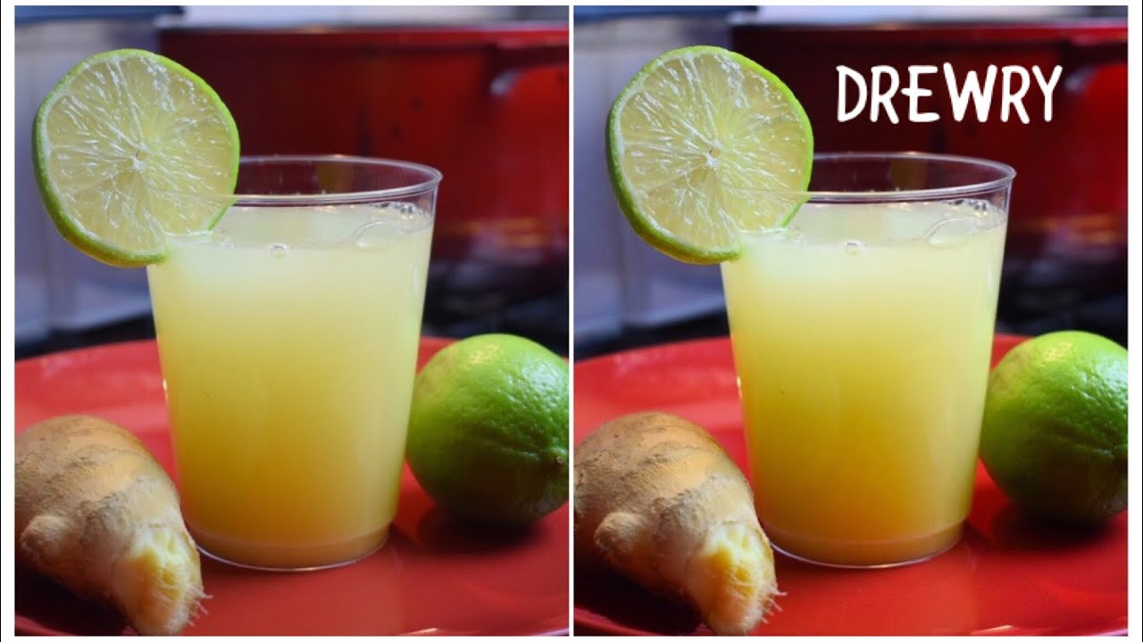how to make ghanaian ginger drink