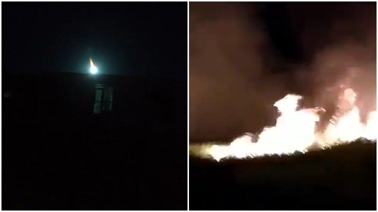 Meteorito En Valencia: PÁNICO Y FUROR EN VENEZUELA IMPACTA METEORITO EN VALENCIA