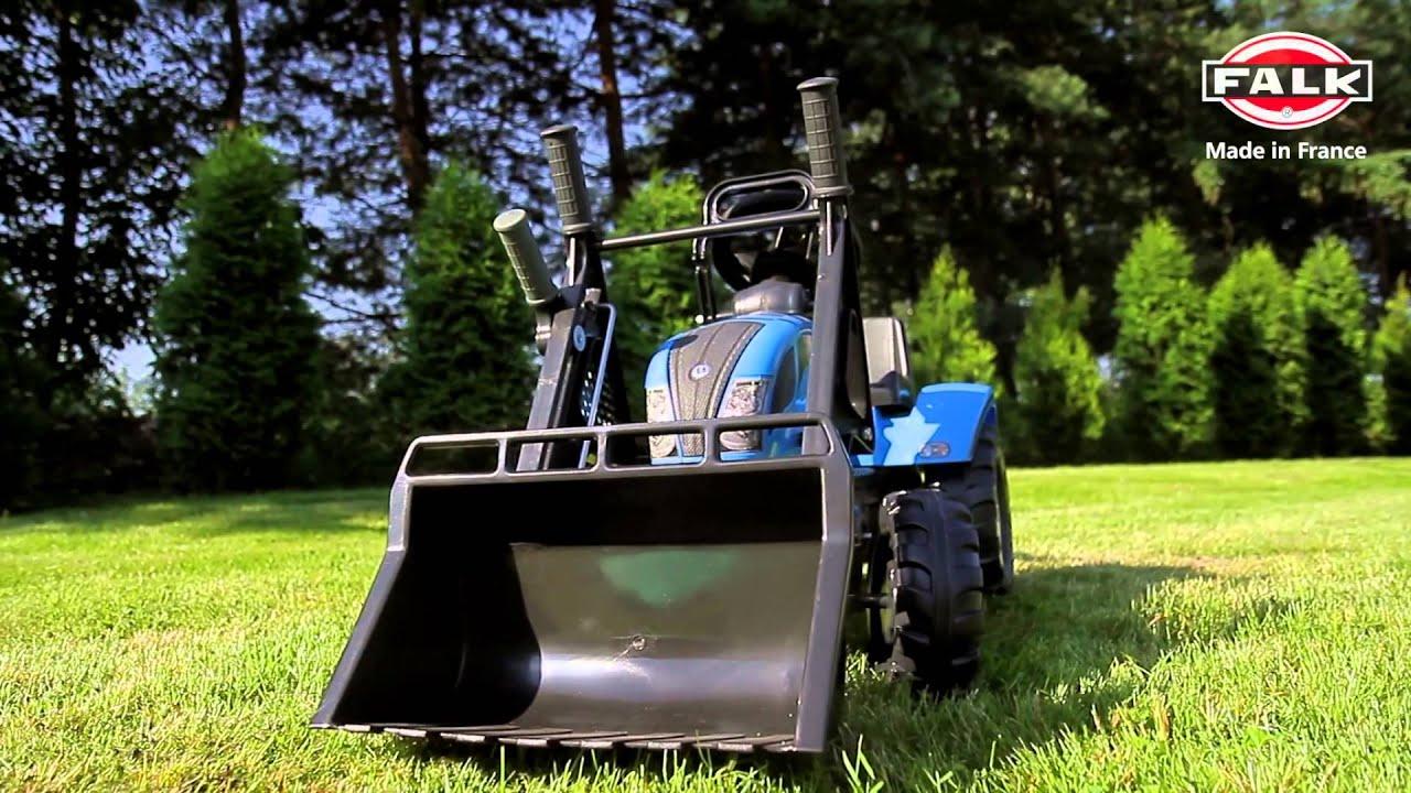 Traktor dla dzieci Landini Power Mondial 110 na pedały z   -> Kuchnia Dla Dzieci Z Ekspresem