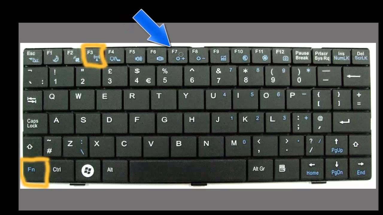 Hp Laptop Keyboard Scroll Lock