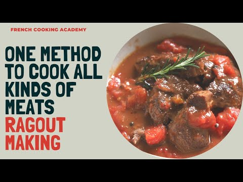 French style slow cooked beef (an easy method to create all kinds of ragouts)