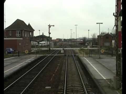 Führerstandsmitfahrt - (Teil2 - Westerland) Hamburg Altona - Westerland (Sylt) Train Cab Ride