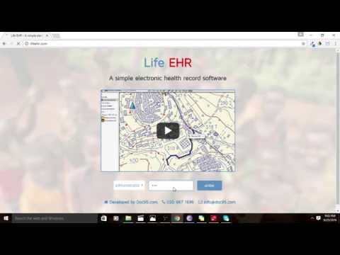 Life EHR - A simple electronic health record software.