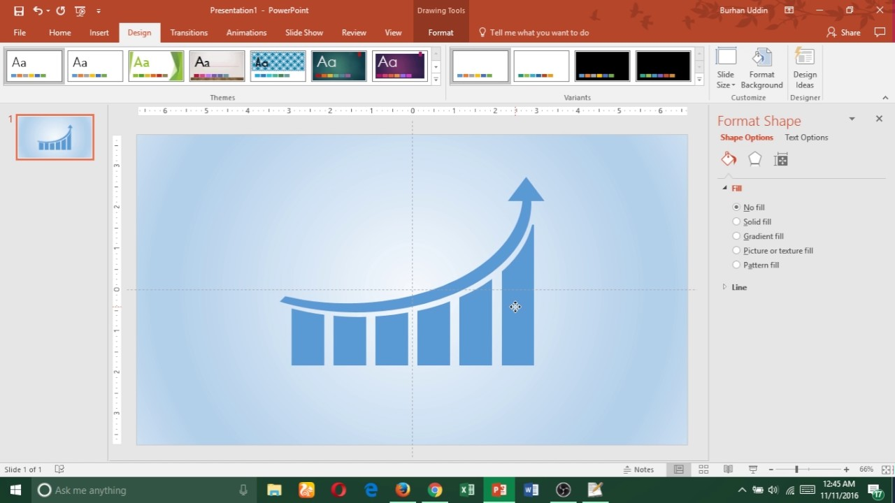 how to make a video on powerpoint 2016