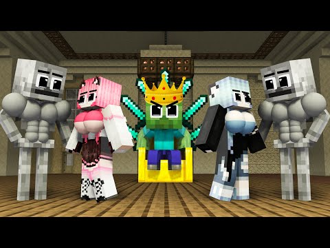 Monster School : Sinister Herobrine Rich Family vs Baby Wither - Sad Story - Minecraft Animation