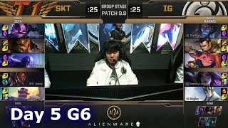 Download SK Telecom T1 vs Invictus Gaming | LoL MSI 2019 Group Stage Day 5 | SKT vs IG Mp3 and Videos