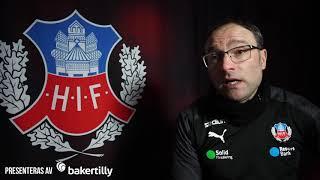Per-Ola Ljung inför träningsmatchen mot Kalmar FF