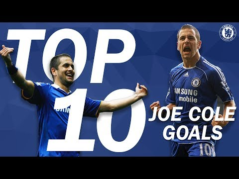 Top 10 Greatest Joe Cole Goals For The Blues | Chelsea Tops