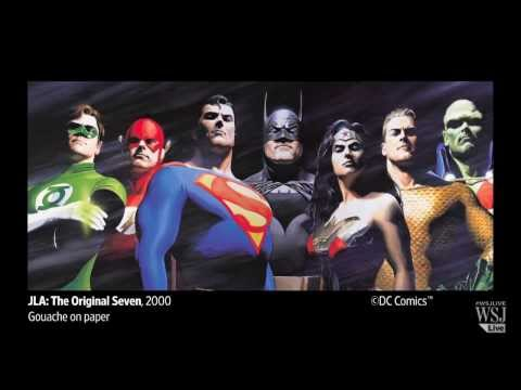 Artist Alex Ross Talks About Hyper-Realism in Comics