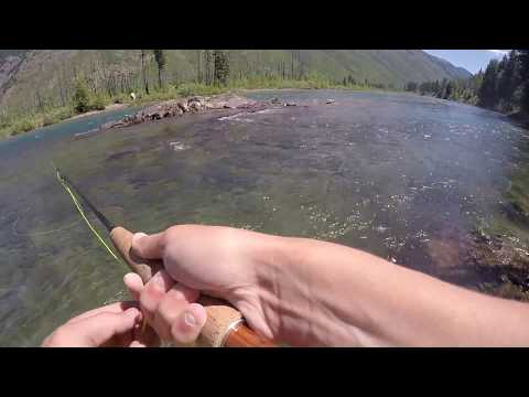 Fly Fishing Montana - Glacier National Park - North Fork Flathead River (Pt. 2/3)