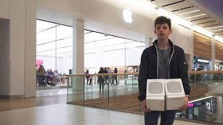 Returning my Rubbish Apple HomePods at the Apple Store!