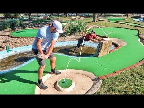 Insane Mini Golf Battle