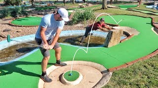 Insane Mini Golf Battle vs. GM Golf