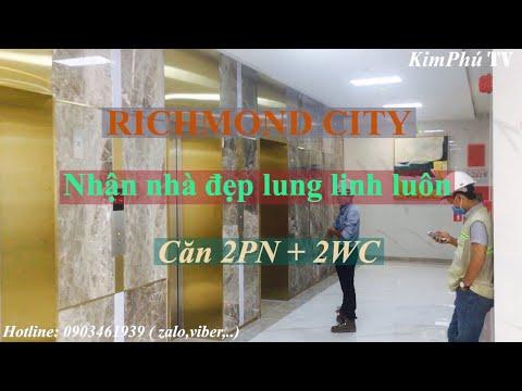Bất động sản - tập 6: Đi nhận căn hộ RICHMOND CITY - Nguyễn Xí, quận Bình Thạnh.