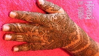 Intricate Indian Bridal Mehndi - Henna Video