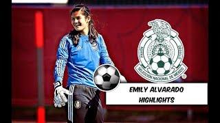 Emily Alvarado highlights (Portera Seleccion Mexicana y TCU Soccer EUA
