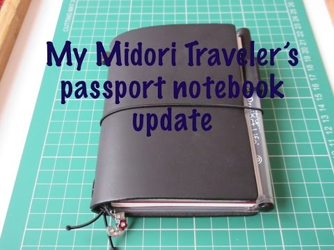 My Midori Traveler's notebook update | Amsterdam edition