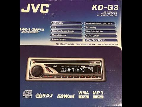 JVC KD-G3 (CD/MP3 Radio)