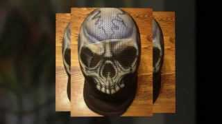 Painted Fencing Mask from BloodSport.com - Kombat Instruments Limited