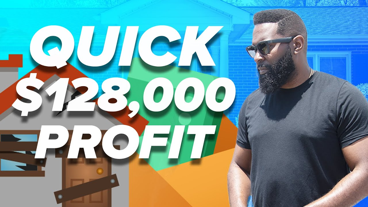 We Flipped this  107 000 Property into a HUGE Profit    Wholesaling Real Estate